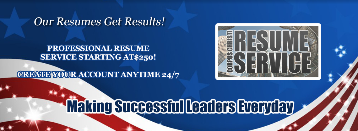 WE KNOW YOU HAVE A CHOICE when choosing a resume service.